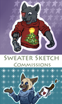 More Sweater Commissions by FelineMyth