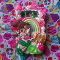Sailor Jupiter Decoden Phone Case :3 by TiffyyyCuppyCake