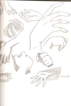 Hands by alovethatburns