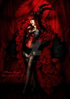 Moulin Rouge by babsartcreations