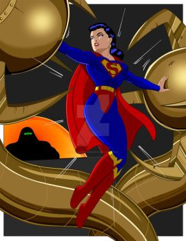 Superwoman c by Rogelioroman by THE-Darcsyde