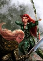 wood_elves by laclillac