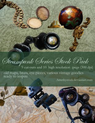 Steampunk Stock Pack by amethystmstock
