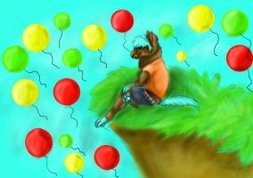 PC-ballons everywhere by CanineCriminal