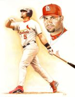 Albert Pujols by LuisDiazArtist