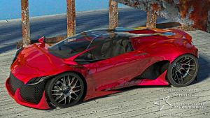 THEBIAN PYTHON supercar by mcmercslr