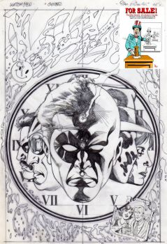 For sale cover sketch Watchmen A by PinoRinaldi