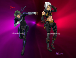 Sora to Haseo, one in the same update by TheDarknessWolf