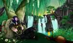 Jade Forest by Saurro