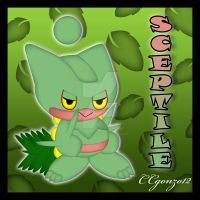 Sceptile Chao by CCgonzo12