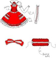Lolita Dress Design by DarkDevi