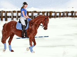 But Baby It's Cold Outside - Animated by Horse-Emotion
