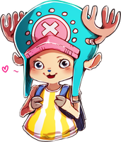 Tony Tony Chopper by ymstr