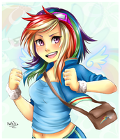 Rainbow Dash by Nataliadsw