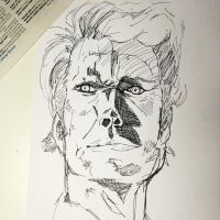 Dirty Harry Inktober 2014 by NoriToy