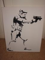 First ever stencil by RAMART79