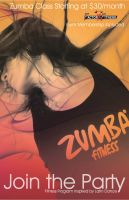 Zumba Poster by Crystal852