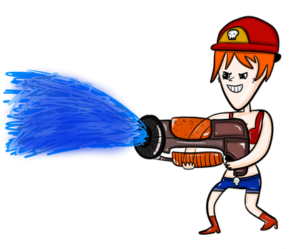 Fire Fighter from Brawl Busters by BroMcBroski
