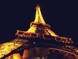 eiffel tower by pinkmarta182