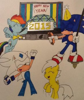 HAPPY NEW YEAR by ArtKing3000