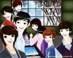 super junior+shinee by curlymobb