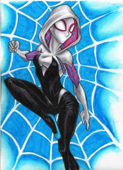 Spider-Gwen by kimberly-castello