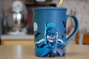 Batman Mug by jenimal