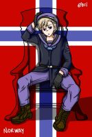 Hetalia - Norway by ehri