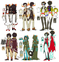 Acquaristuck: Lowbloods Set by Jotaku