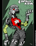 CENTELLA AZUL_ZOMBIE TIME by DRAKEFORD