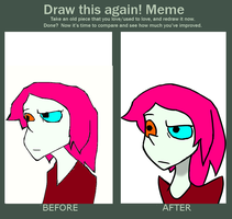 Draw This Again Meme (Untitled) by LaughterLover