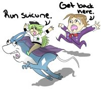 RUN SUICUNE RUN by cheetahprince