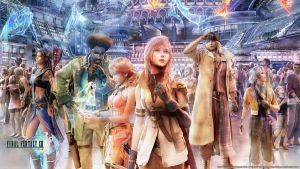 Final Fantasy XIII wallpaper 3 by De-monVarela