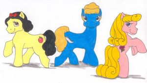 My Little Princesses: group 1 by Tewateroniakwa