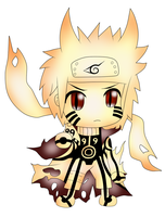 Naruto Bijuu Mode Chibi by ParitSentiment