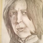 Alan Rickman Sketch by buffydoesbroadcast
