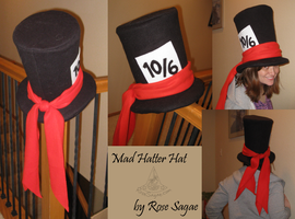 Mad Hatter Hat by RoseSagae