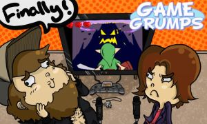 The Game Grumps by graynate