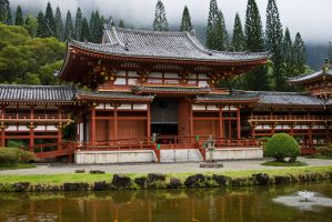 Byodo-In Temple 01 by megamandos