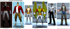 Quick Reference: Archive Characters by Robenix