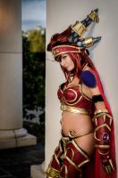 Alexstrasza at Wyrmrest Temple 2 by Kiotoko-Solo