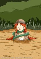Rebecca Longale - Tentacle Quicksand #4 by A-020