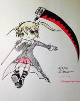 Maka and Soul by Happy363
