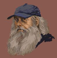 Portrait Sketch In Corel Painter Essentials by grobles63