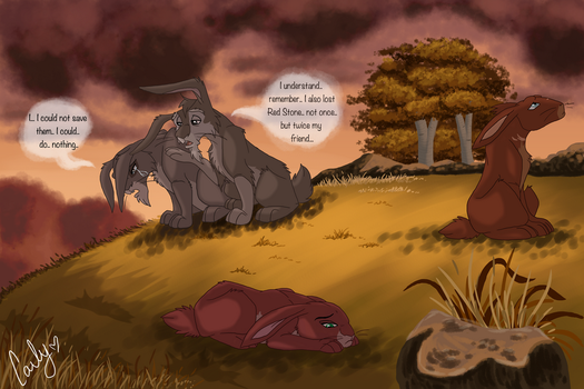 The arrival of Autumn. by Acacia-Rabbit-Desert