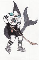 Sharks Territory Colored by CLPennelly