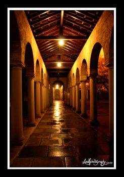 The Corridors of Hogwarts by Leen88