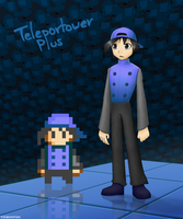Teleportower Plus Fanart by tonkonton