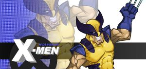 Wolverine Comp by thousandfoldart