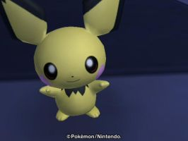 Pichu by RandomMissEverything